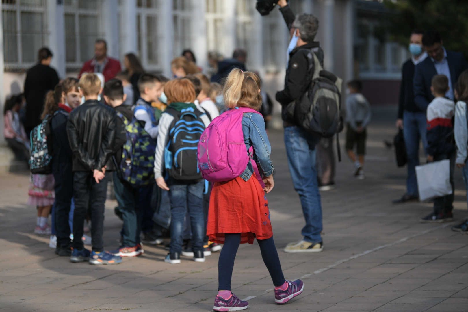Prvi dan škole, 1. septembar FOTO: Dragan Mujan / Nova.rs