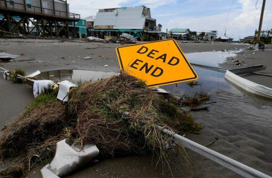 Grand Ajl uragan Ida Grand Isle