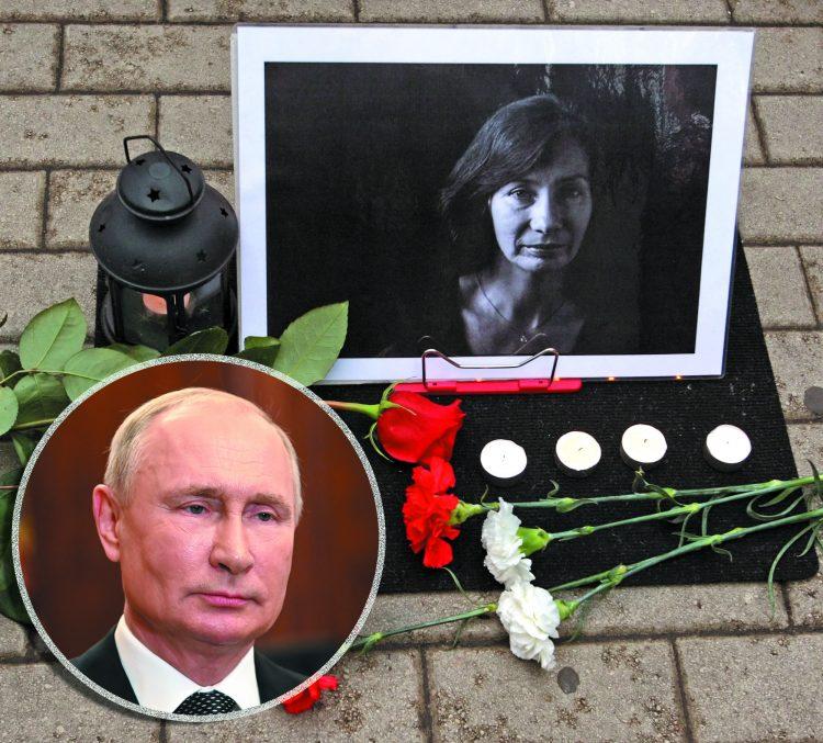 Vladimir Putin i Natalia Estemirova