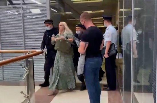 Anastasija Vasiljeva hapšenje