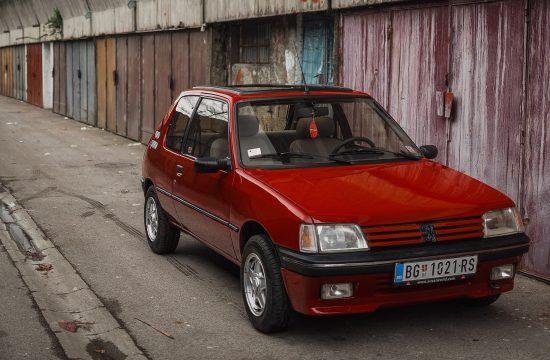 oldtimer, peugoet 205, auto, automobil