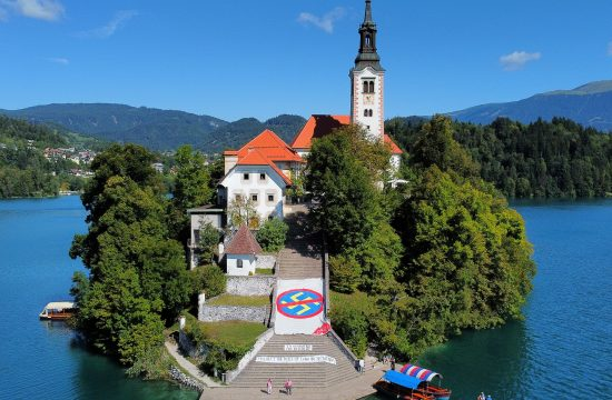 Bled, protest