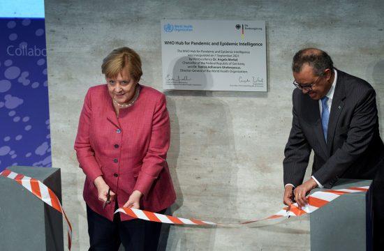 SZO, Angela Merkel, Tedros Gebrejesus