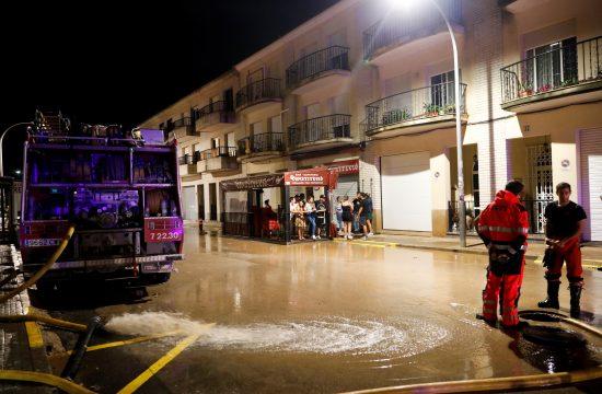 Španija, nevreme, kiša