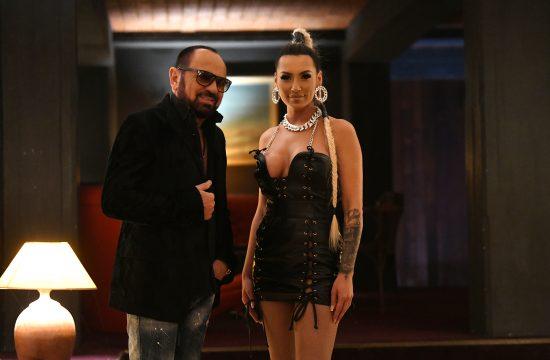 Mile Kitić, Monika Ivkić, pevačica iz Beča snimanje spota, spot, intervju