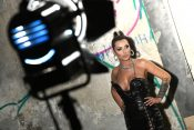 Monika Ivkić, pevačica iz Beča , snimanje spota, spot, intervju
