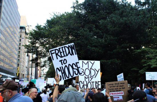 Antivakseri Amerika, Antivakser Njujork protest
