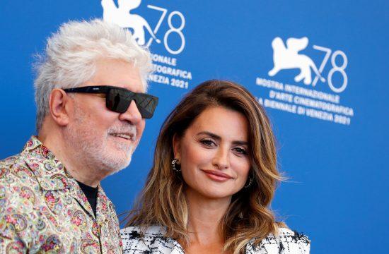 Pedro Almodovar, Penelopa Kruz, Filmski festival Venecija