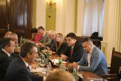 Pregovori vlasti i opozicije Milica Djurdjevic Zavetnica, Aleksandar Seselj, Zika Gojkovic