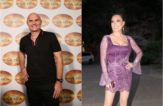 Aleksandar Milic Mili i Svetlana Raznatovic Ceca