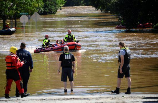 Njujork Ida uragan posledice, kisa, poplava