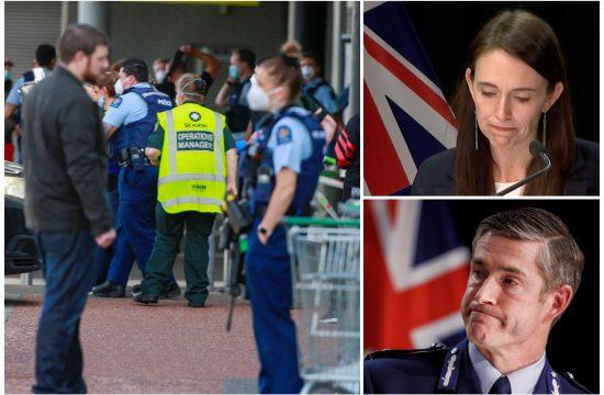 Novi Zeland, Okland, teroristički napad supermarket