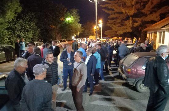 Selo Obrva protest Kraljevo