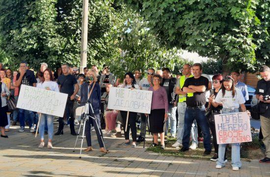 Rekovac Protest protiv iskopvanja litijuma u Rekovcu