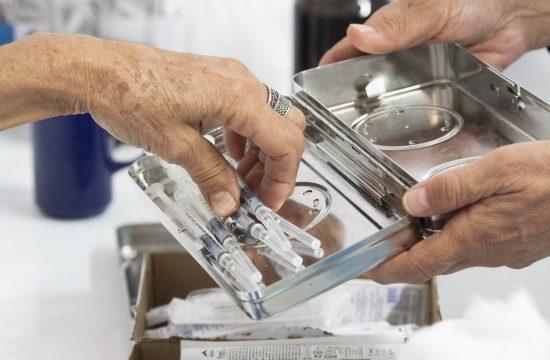 Severna Makedonija vakcinacija