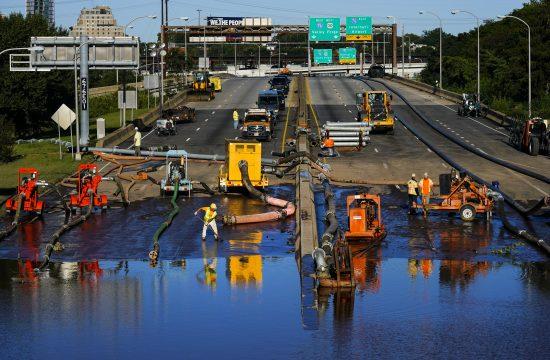 Filadelfija autoput uragan Ida