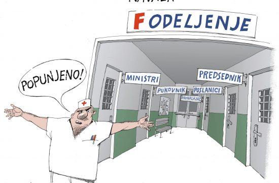 Navala, karikatura, Dušan Petričić