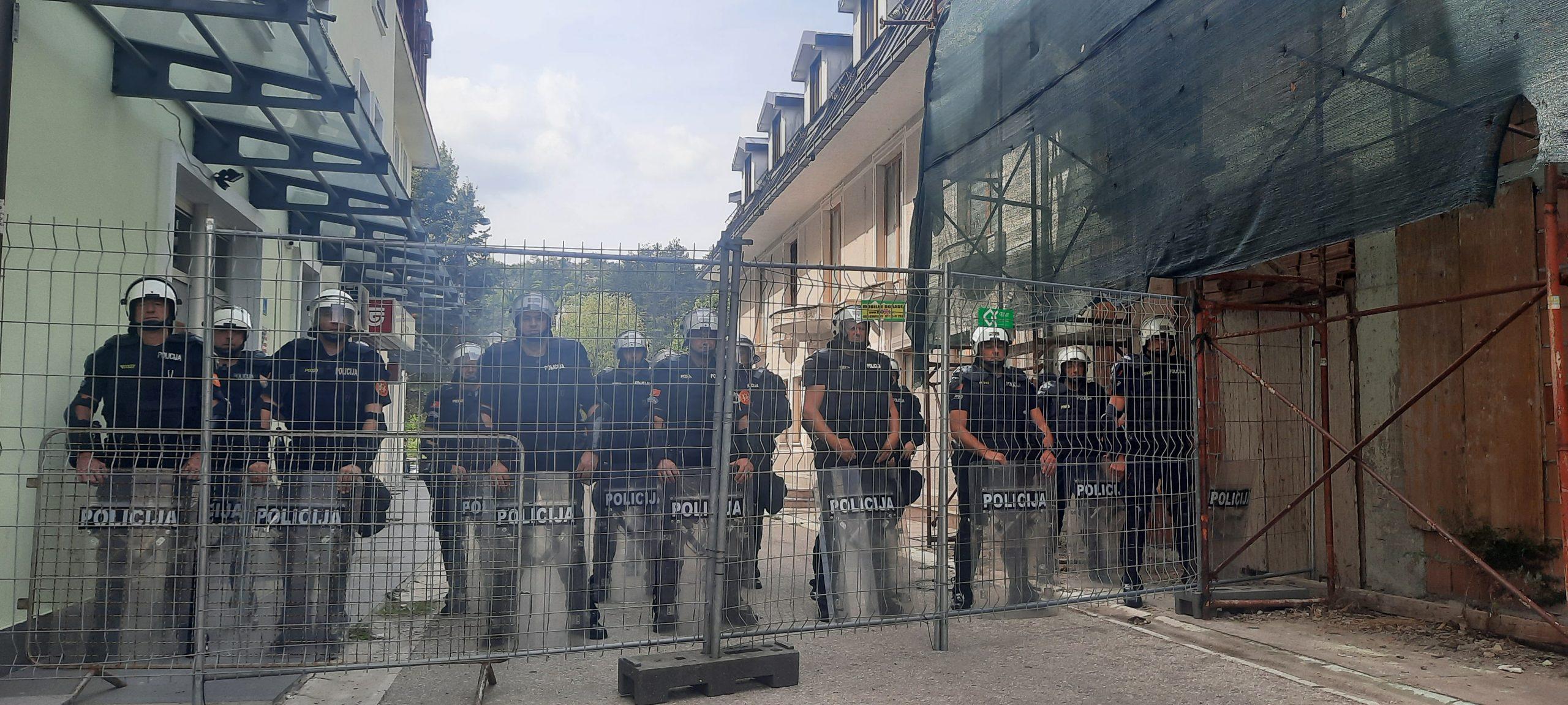 Crna Gora, Cetinje 04.09.2021. Dan pred ustoličenje mitropolita Joanikija