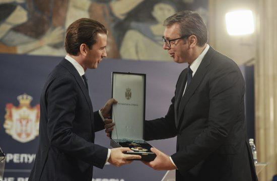 Sebastijan Kurc i Aleksandar Vučić