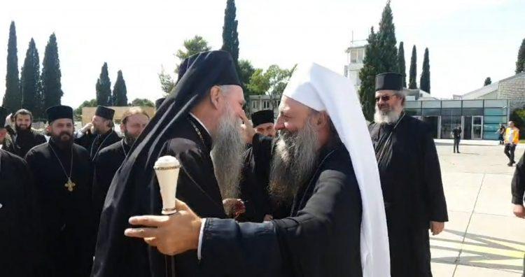 Patrijarh Porfirije, Vladika Joanikije, Mitropolit Joanikije