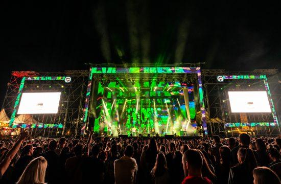 Muzički festival Music week, Mjuzik vik, Ušće