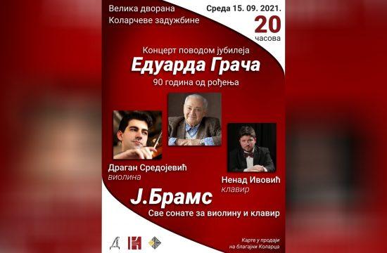 Koncert povodom 90. rođendana Eduarda Grača