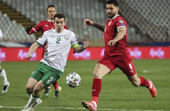 Šejmus Koleman i Aleksadndar Mitrović, Fudbalska reprezentacija Srbije, Irske