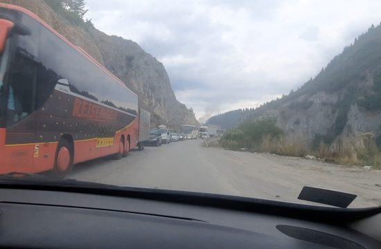Prelaz granice ka Novom Pazaru