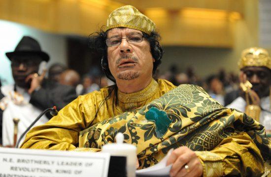 Moamer Gadafi