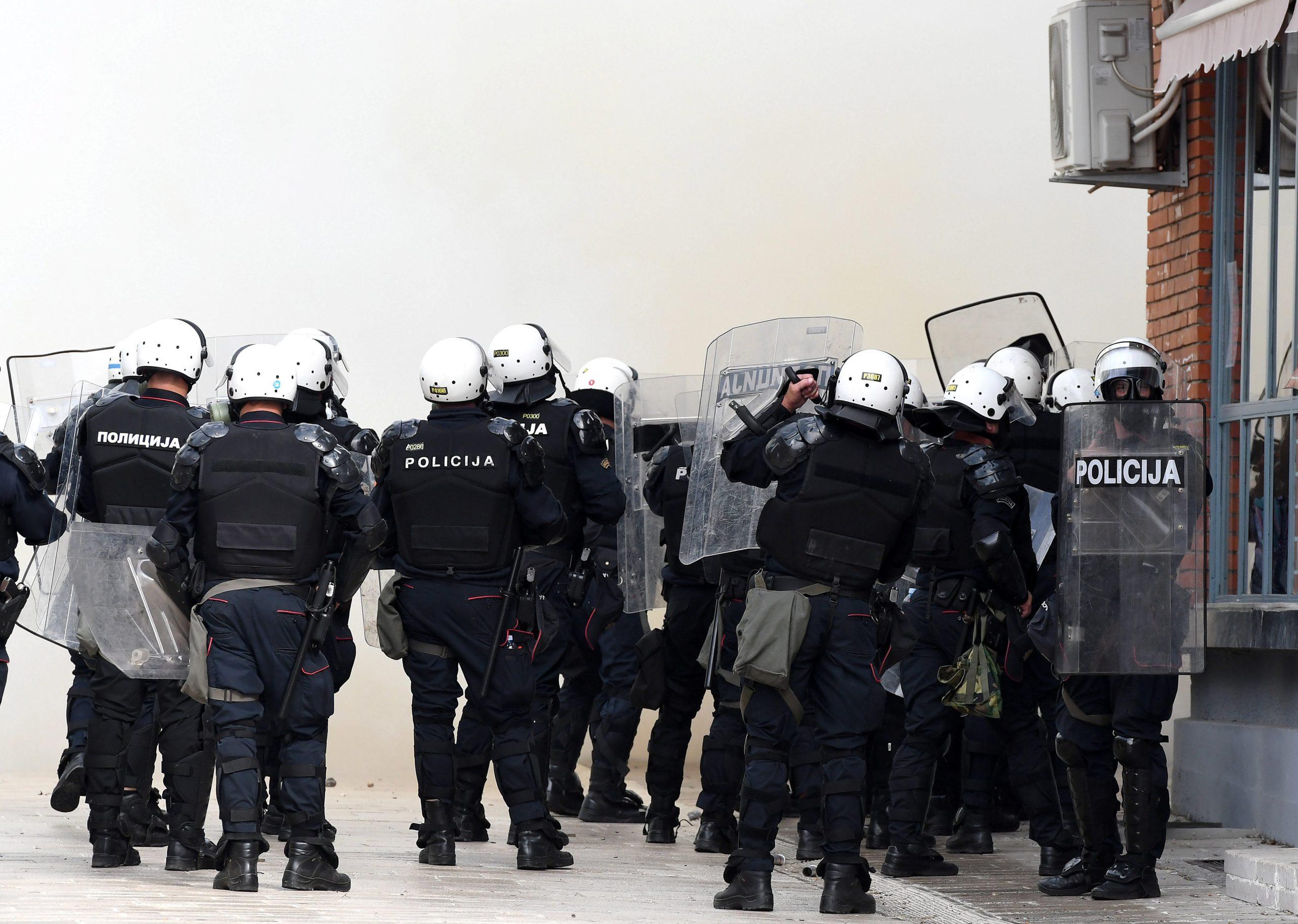 Cetinje policija Crna Gora