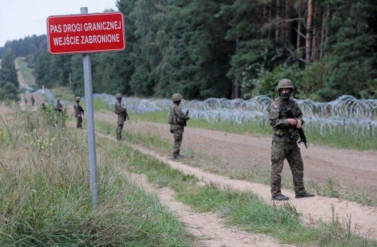 Poljska Belorusija granica