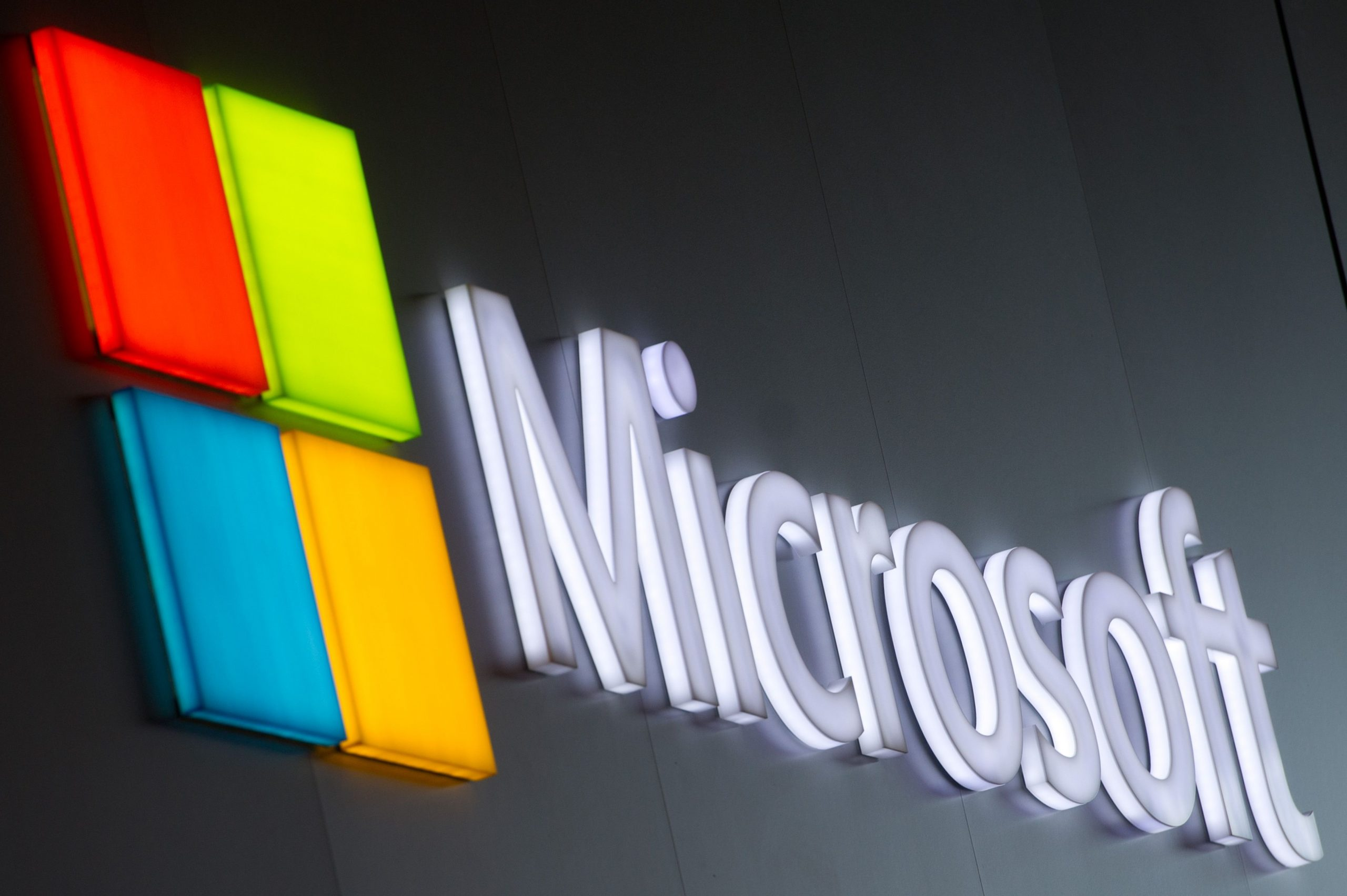 Majkrosoft logo