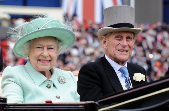 Kraljica Elizabeta i princ Filip