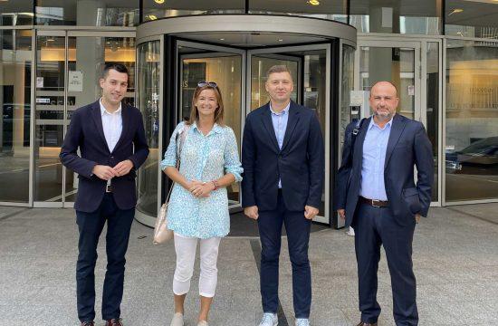 Dobrica Veselinovic, Tanja Fajon, Nebojsa Zelenovic i Demetris Papadakis
