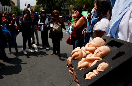 Protesti protiv abortusa Meksiko
