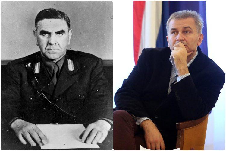 Ante Pavelic i Boris Raseta