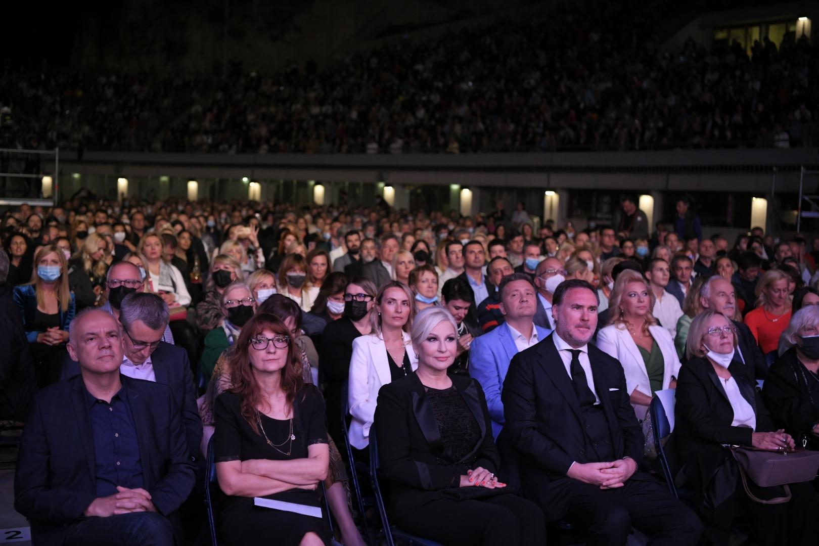 Plasido Domingo koncert Zoran Radojicic, Zorana Mihajlovic i Vladimir Atanackovic
