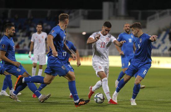 Fudbalska reprezentacija Španije, tzv. Kosova