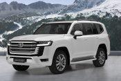 Land Cruiser, 300, auto, automobil Toyota