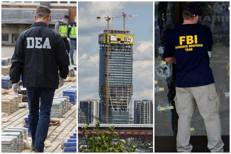 Beograd na vodi, DEA, FBI