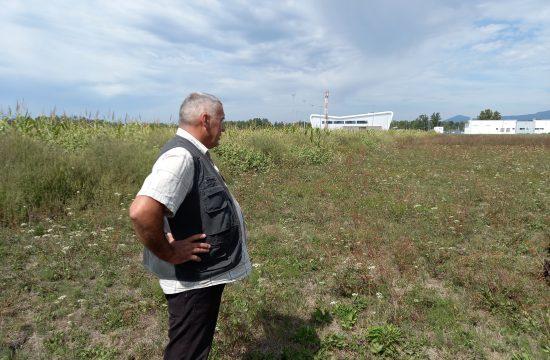Živorad Milovanović Kraljevo, okolina, aerodrom Morava, proširenje piste, oduzimanje zemlje, zemljišta