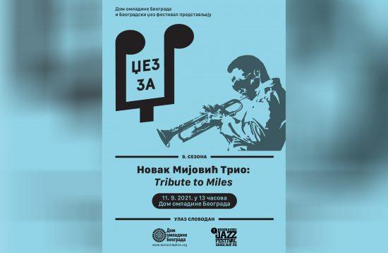 Novak Mijović Trio, Tribute to Miles, Džez za Dž, Dom omladine Beograda i Beogradski džez festival