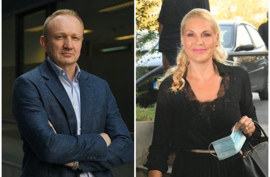 Dragan Đilas, Dragan Djilas i Biljana Popović Ivković
