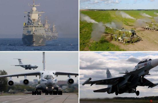 ruske vojne vezbe zapad 2021