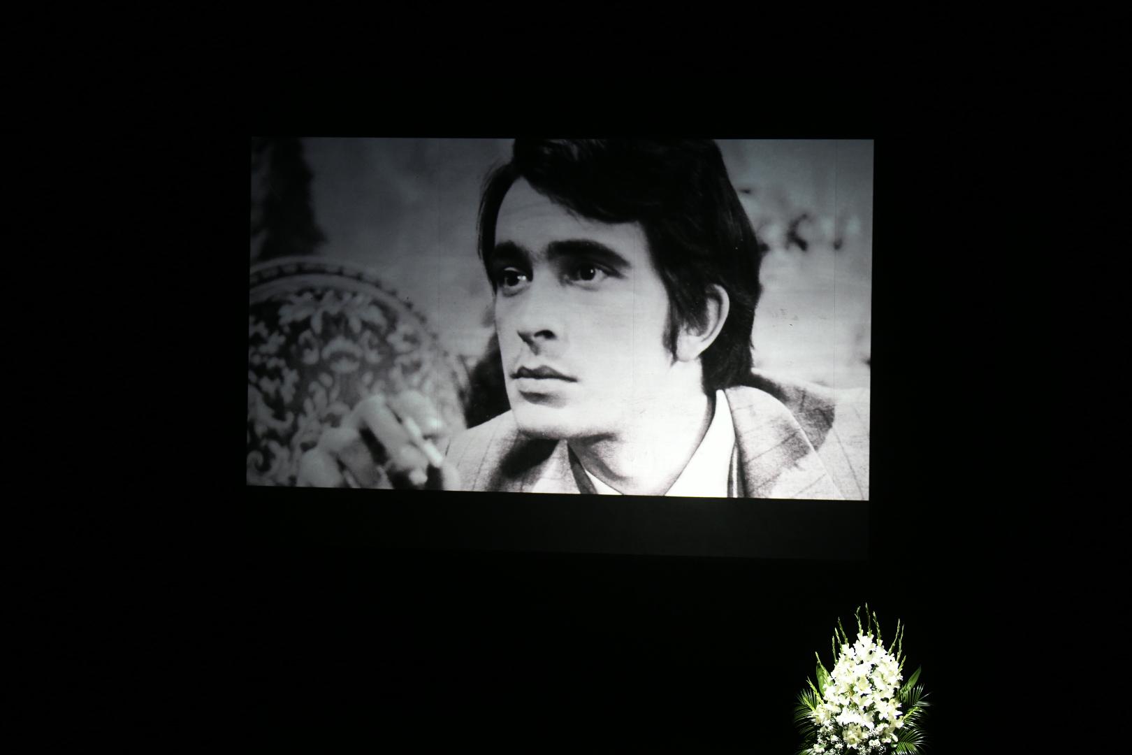 Komemoracija glumcu Milanu Lanetu Gutoviću u Jugoslovenskom dramskom pozorištu, JDP, Milan Lane Gutović