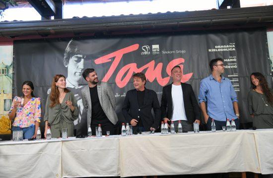 Sanja Marković, Tamara Dragičević, Milan Marić, Dragan Bjelogrlić, Željko Joksimović i Zoran Lisinac