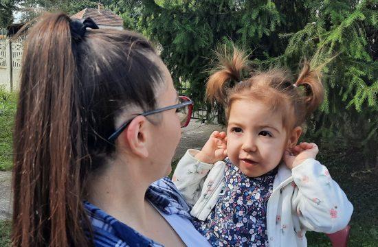 Minja Matić sa majkom, SMA, spinalna mišićna atrofija, lečenje, povratak iz Amerika, Živka Matić, majka male Minje