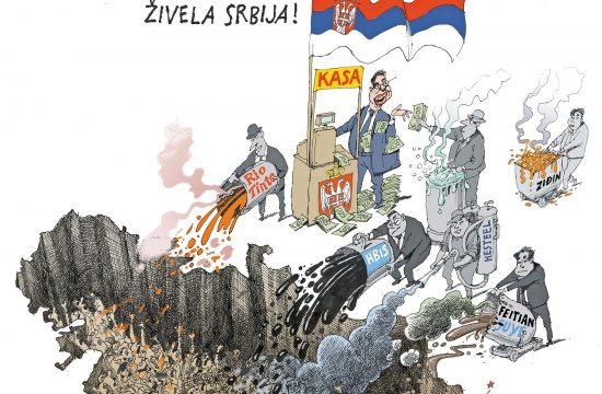 Zivela Srbija Karikatura