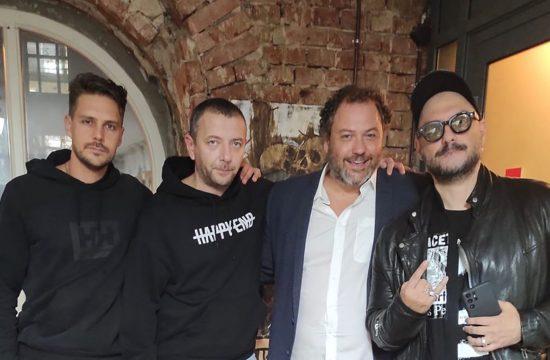 Milos Bikovic, Aleksej Agranovic, Jug Radivojevic, Kiril Serebrenjikov