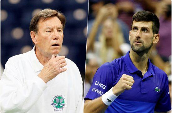Nikola Pilic i Novak Djokovic